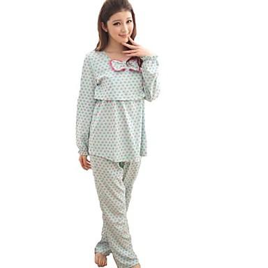 ca7d2b1546c [$61.50] σημείο της μόδας άνετα κύμα σετ θηλασμού πιτζάμες ρούχα μητρότητας  του