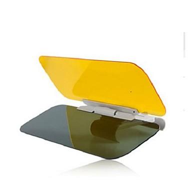 billige Solskjermer og visirer til bilen-bil solskygger og visirer dag og natt antirefleksbriller nattsyn kjørespeil for universal