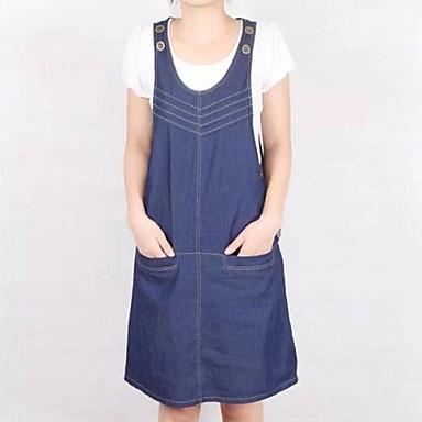 f951d8003096 νέα μόδας συν μέγεθος τιράντες xinyuange® γυναικών τζιν φόρεμα 1943328 2019  –  50.99