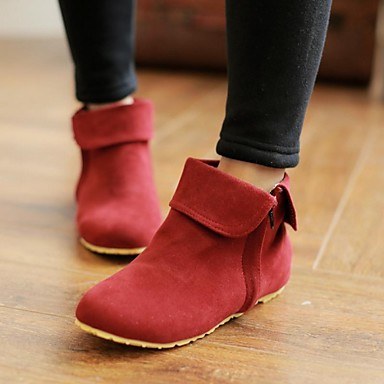Women S Shoes Spring Fall Winter Flat Heel Booties Ankle