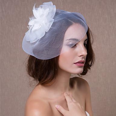 povoljno Party pokrivala za glavu-Kristal / Tekstil / Organza tijare / Fascinators / Cvijeće s 1 Vjenčanje / Zabava / večer Glava / kape