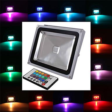 preiswerte Außenbeleuchtung-jiawen led flutlicht scheinwerfer flutlicht 30 watt rgb ip65 wall washer lampe wasserdicht gartenbeleuchtung ac85-265 v