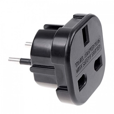 cheap AC Adapter & Power Cables-UK to EU AC Power Travel Plug Adapter Socket Converter 10A/16A 240V