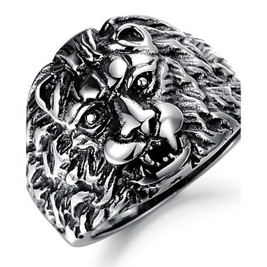 billige Motering-Dame Statement Ring tommelfingerring Titanium Stål damer Uvanlig Unikt design Julegaver Fest Smykker