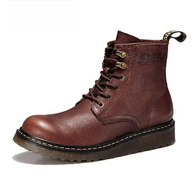 e9e384107e6 pánské boty kolo toe práce amp  Bezpečnost byt podpatku kožené kotníkové  boty s šněrovací boty více barev k dispozici 2081915 2019 –  54.99