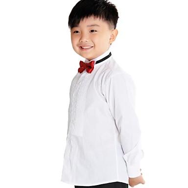 povoljno Odjeća za dječake-Dugih rukava Regularna Pamuk Majica Obala
