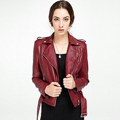 4008068451f6 Spring Summer Fall Leather Jacket Short PU 2208654 2019 –  169.04