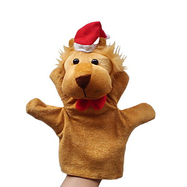 levne Maňásci-Lev Prstoví maňásci Maňásci Marioneta Roztomilý Zábavné Půvab Animák Textil Plyš Dívčí Hračky Dárek