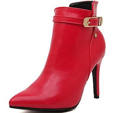 bottes noir rouge chaussons bottines bout pointu bottes talon aiguille cuir verni. Black Bedroom Furniture Sets. Home Design Ideas