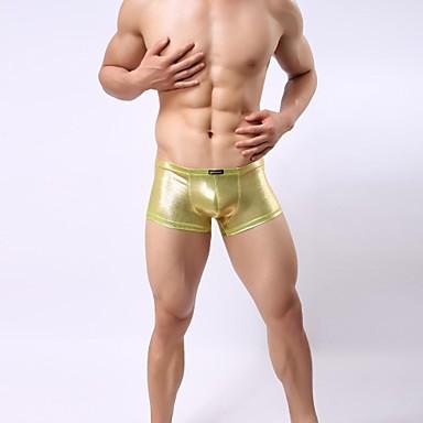 férfi szexi arany ezüst poliészter boxer fehérnemű 2271662 2019 –  8.79 7eccf423fd