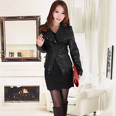 120f8055b3eb faux δερμάτινο μπουφάν faux γούνα μόδας μακρυμάνικο μπουφάν για τις γυναίκες  2328665 2019 – $78.99