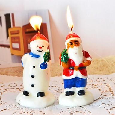 mysig snögubbe&santa claus ljus för jul (santa claus: 1 #&snögubbe: 2 #)