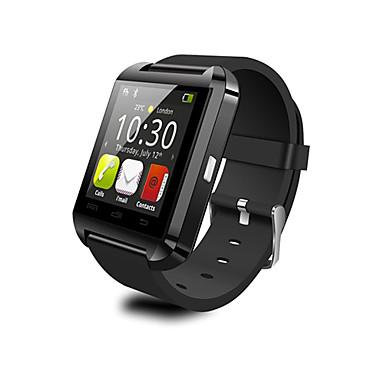 u8 smart watch bt 4.0 goedkope fitness tracker-ondersteuning stellen compatibele samsung / sony android-telefoons & apple op de hoogte
