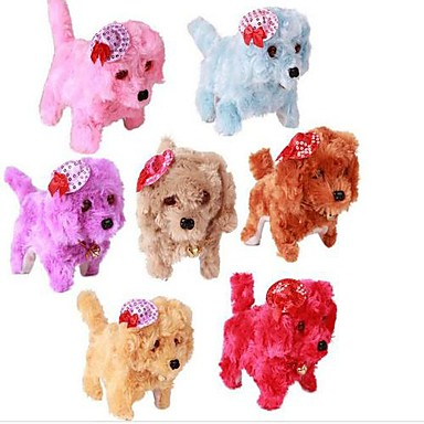 Along With Noble Dog Hat Poodle  Stuffed Toys(Color Random)