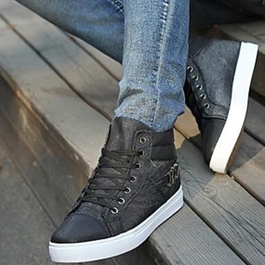 ανδρικά παπούτσια κλειστό toe μπότες τζιν επίπεδη τακούνι αστράγαλο  περισσότερα χρώματα διαθέσιμα 2265573 2019 –  37.99 c577f3b2991
