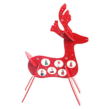 jul trä rådjur inredningsartiklar gåvor