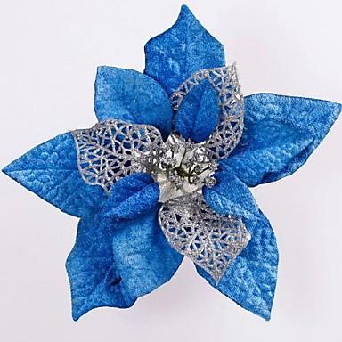 julgran dekoration simulering blomma