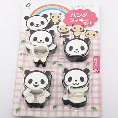 Cevre Koruma Plastik 4pc Panda Kurabiye Kalibi Set 2292350 2020