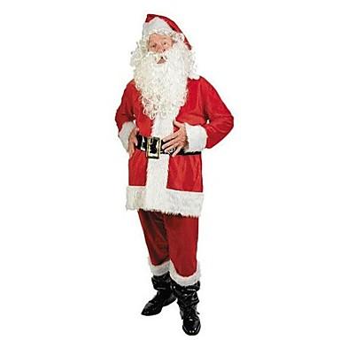 röd jultomten passar vuxna män Jul kostym