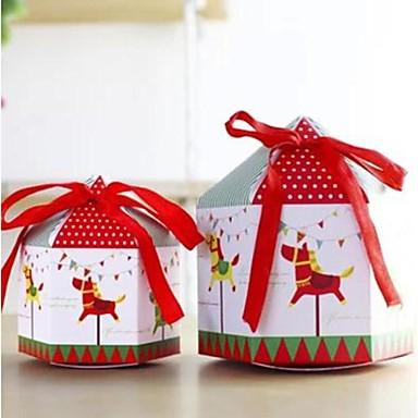 söta mode karusell mini eller stor presentkartong (1st)
