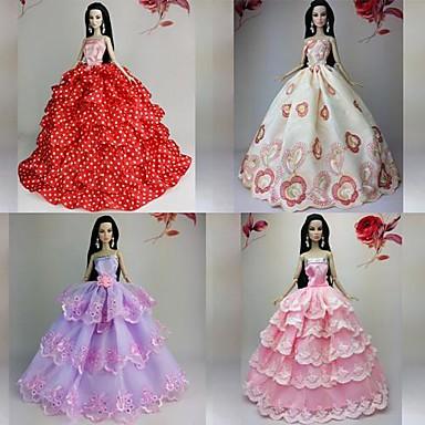 5b7284169d9f Πάρτι   Απόγευμα Φορέματα Για Barbiedoll Δαντέλα   Organza Φόρεμα Για Κορίτσια  κούκλα παιχνιδιών 2289263 2019 –  19.99