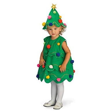 Christmas Trees Cosplay Costume Santa Clothes Kid S Boys And Girls