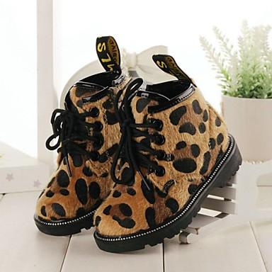 03e0fe13536 παιδικά παπούτσια άνεση το στρογγυλό toe μποτάκια επίπεδη τακούνι με δαντέλα -up περισσότερα χρώματα διαθέσιμα 2280306 2018 – $22.99