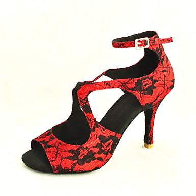 krajky na míru dámské horní kotník pásek latin   taneční sál taneční boty  (více barev) 558184 2019 –  27.99 432f4dfef0