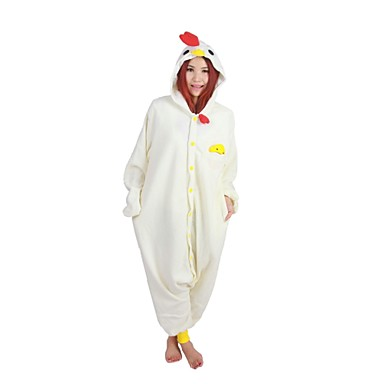 b00865b676 Kigurumi Pajamas Cock Chicken Leotard Onesie Festival Holiday Animal  Sleepwear Halloween Print Polar Fleece Kigurumi For Unisex Halloween  2421757 2019 – ...