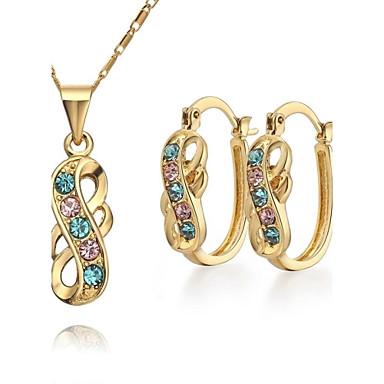 Smyckes set (Multifärgad) - i Legering - av Damers/Dam