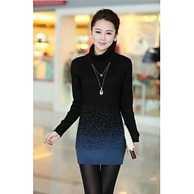 5a1934dfb8c dámské korean zahuštěný vysoký límec svetry pletené zboží vlněné šaty  2523267 2019 –  44.09