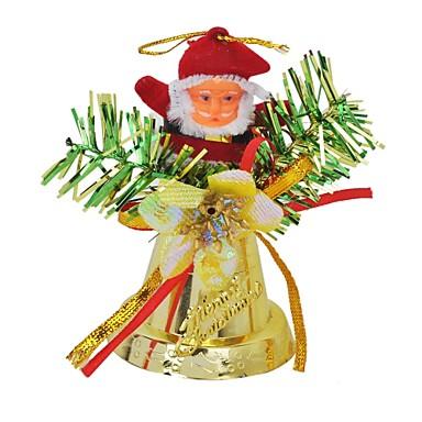 jultomten ringer klockan hängande julgransdekoration