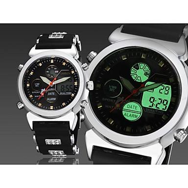 94b088e9e7d pánské černý kulatý ciferník silikonové kapela japonsko pohyb módní potápěčské  hodinky sportovní náramkové hodinky 2499983 2019 –  25.59