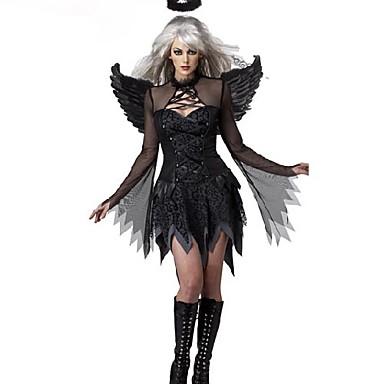 Vampyr Cosplay Kostymer / Dräkter Unisex Halloween Festival / högtid Polyuretan Läder Karnival Kostymer / Huvudbonad