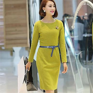 99ddd7d26560 μακρύ μανίκι φορέματα μάλλινα X-in®women του 2516456 2019 –  66.65
