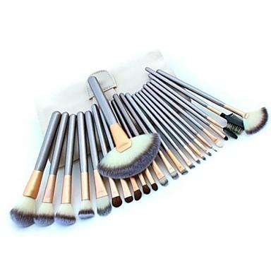 halpa Osta tuotemerkeittäin-ammattilainen Makeup Harjat Brush Lavastus 24kpl Pehmeä Meikkisiveltimet varten Meikkisivellinsetti