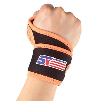 SHUOXIN Podpora ruky a zápěstí Περικάρπιο για Τρέξιμο Πεζοπορία Αναρρίχηση Για Υπαίθρια Χρήση Νάιλον Lycra Spandex 1pc Αθλημα Îmbrăcăminte Outdoor Μαύρο