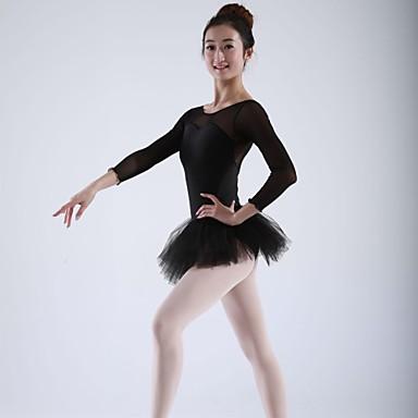 Femme Jupes Robes Soie Mousseline Tutu Spandex Et Hauts Ballet De HIE2e9DYW