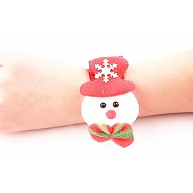 jul snögubbe armband
