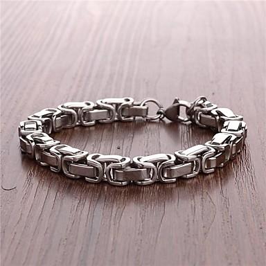levne Pánské šperky-pánská móda titan ocel náramek