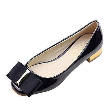 Noir Décontracté Chaussures Bordeaux Talon Gros Femme qCCpEwa