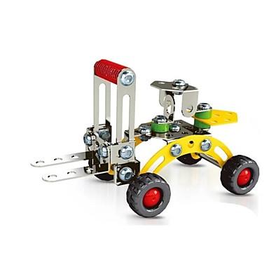 magiska modell diy intellektuell utveckling rostfri legering monterade motorredskap gaffeltruck leksak (75 st)