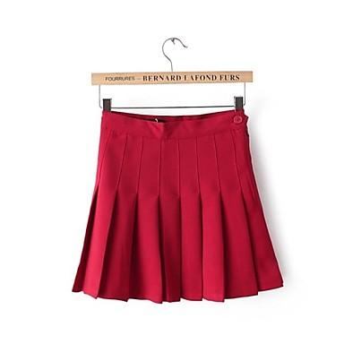 fc82a5b26b7 Dámská móda vysokým pasem mini skládané sukně 2472150 2019 –  40.94