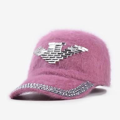 9b192547beea6 Women s Winter Cute Stick Drill Arrow Rabbit s Hair Baseball Cap 2433031  2019 –  26.99