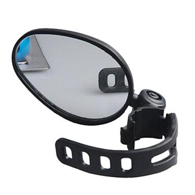 billige Sykkeltilbehør-Bakspeil Bar End Bike Mirror Justerbare Flyvning med 360 graders flipp Bred synsvinkel Verneutstyr Til Vei Sykkel Fjellsykkel Sykling Plast Gummi Svart