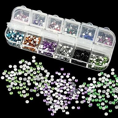 1 pcs Nail Smycken / Glitter & Poudre / Dekorationssatser Mode Vackert Dagligen / Akrylfiber