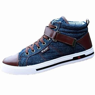 ανδρικά παπούτσια πάνινα παπούτσια toe γύρο επίπεδη φτέρνα τζιν μόδας  παπούτσια περισσότερα χρώματα διαθέσιμα 2390059 2019 –  32.99 82f032a4338