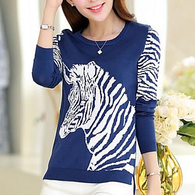 3bcf0689ba Jansa ™ női divat ló mintás pulóver 2422763 2019 – $50.99