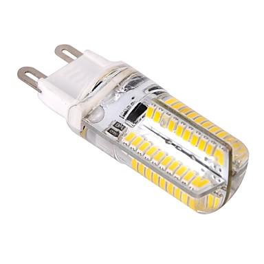 ywxlight® g9 80led 3014smd ledde majsljus varm vit cool vit dimbar 360 strålvinkel led lampa ac 220-240v