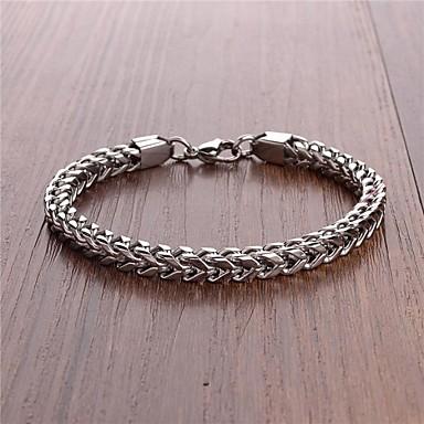 levne Pánské šperky-pánská móda jednoduchý titan ocel náramek